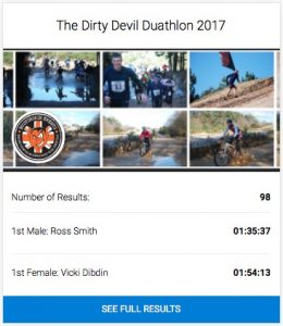 The Dirty Devil Duathlon 2017